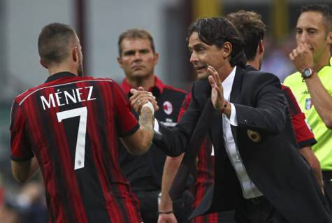 Jeremy Menez e Pippo Inzaghi (Getty images)