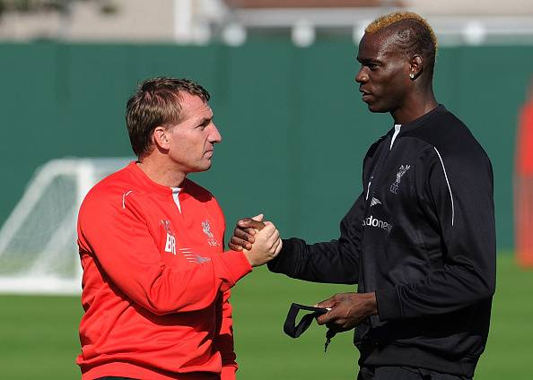 Brendan Rodgers & Mario Balotelli (Getty Images)