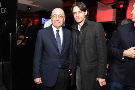 Galliani e Inzaghi (Getty Images)