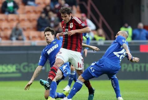 Il gol di Andrea Poli (Getty Images)