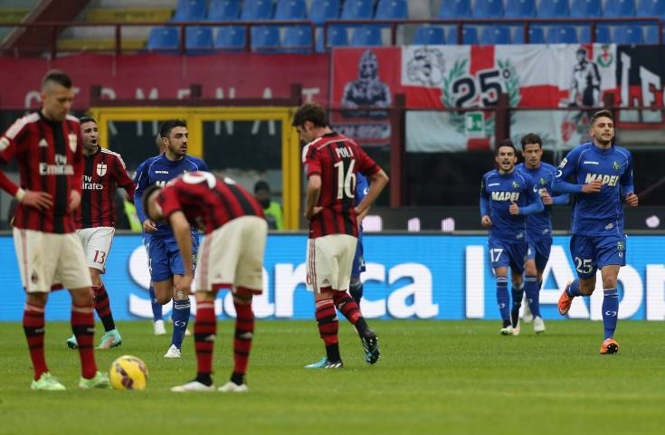 Milan-Sassuolo (Getty Images)