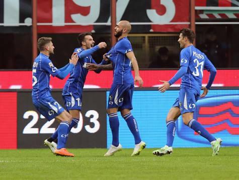 Zaza gol, esulta il Sassuolo (Getty Images)