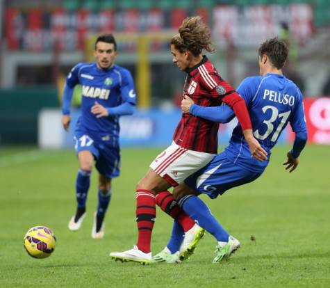 Cerci in Milan-Sassuolo (getty images)