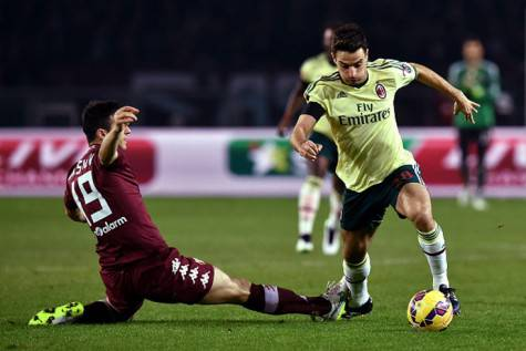 Giacomo Bonaventura in azione (Getty Images)
