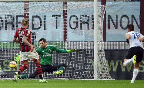 Il gol decisivo di German Denis (Getty Images)