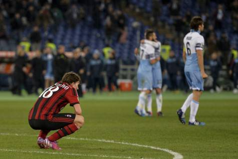 Montolivo si dispera (getty images)