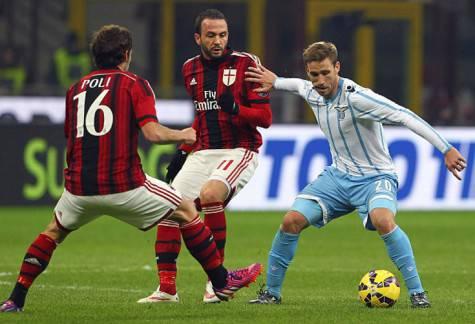 Biglia vs Poli & Pazzini (Getty Images)