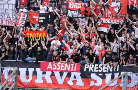 Curva Sud Milano (Getty Images)