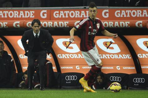 Filippo Inzaghi & Stephan El Shaarawy (Getty Images)