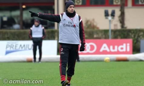 Mister Pippo Inzaghi a Milanello (Getty Images)