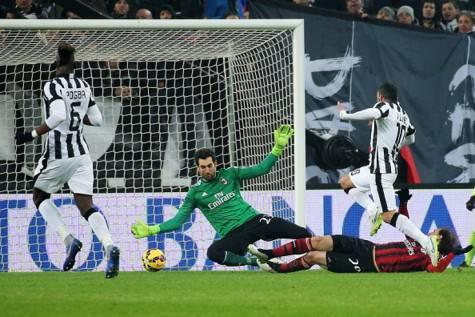 Il gol di Tevez (Getty Images)