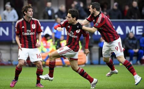 L'esultanza nel gol di Giacomo Bonaventura (Getty Images)