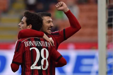 Giacomo Bonaventura e Salvatore Bocchetti (Getty Images)