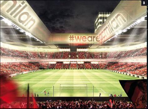Il nuovo stadio (foto Gazzetta dello Sport)