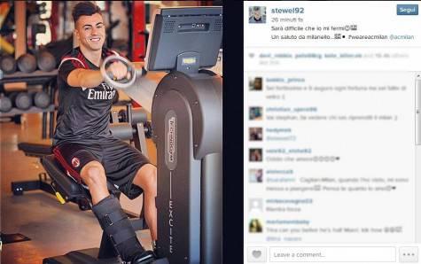 Stephan El Shaarawy su Instagram