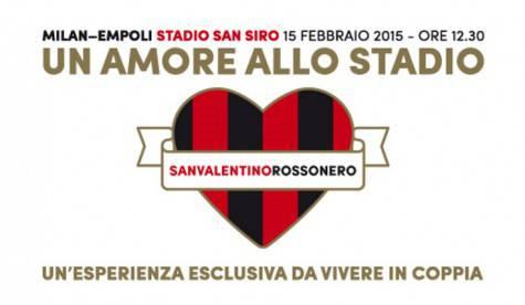 Iniziativa 'Un amore allo stadio' (Acmilan.com)