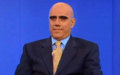 Teocoli imita Galliani (foto Sky Sport)