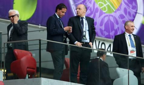 Fabio Paratici e Beppe Marotta (Getty Images)