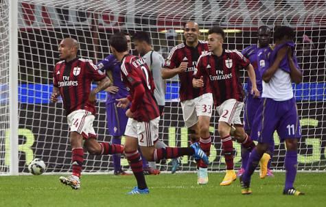 Milan vs Fiorentina (Getty Images)