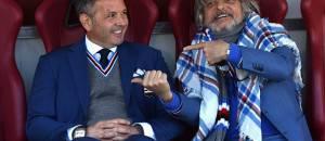 Sinisa Mihajlovic e Massimo Ferrero (Getty Images)