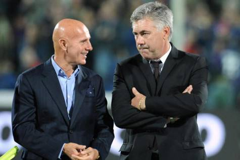 Arrigo Sacchi e Carlo Ancelotti (Getty Images)