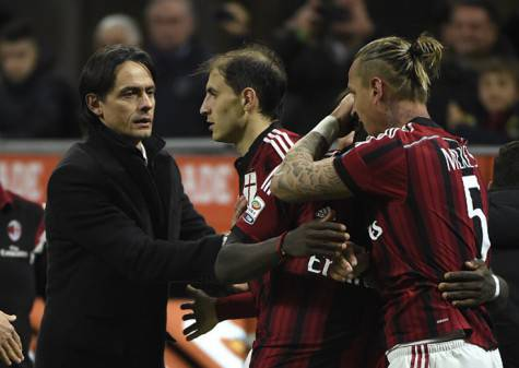 Inzaghi e Mexes (getty images)