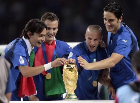 Inzaghi, Gilardino, Del Piero e Toni (getty images)