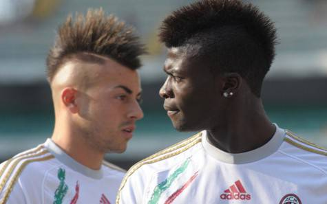 El Shaarawy e Niang (getty images)