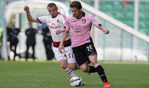 Luca Antonelli e Franco Vazquez (Getty Images)