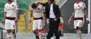 Suso, Menez, Inzaghi e Mexes (Getty Images)