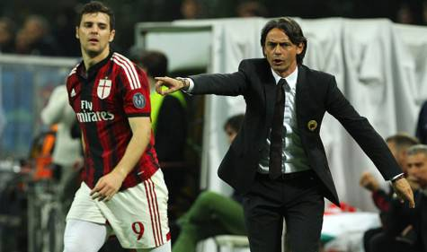 Destro e Inzaghi (getty images)