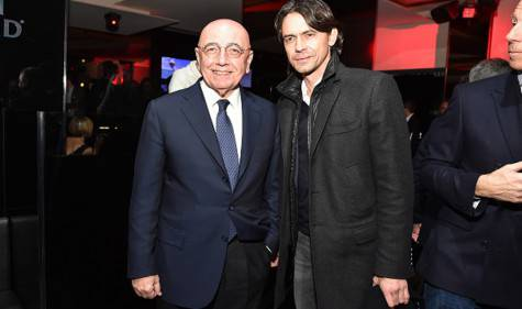 Adrano Galliani e Filippo Inzaghi (getty images)