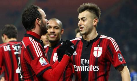 El Shaarawy & Pazzini (Getty Images)