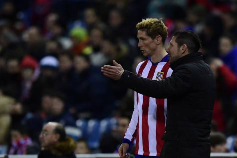 Fernando Torres & Diego Simeone (Getty Images)