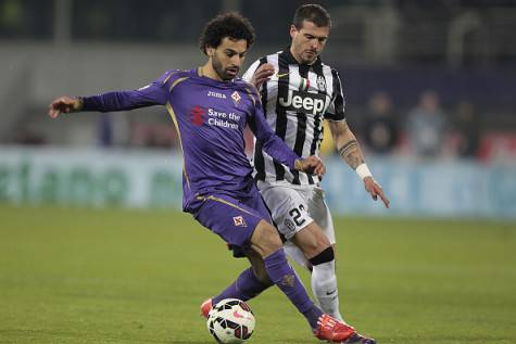 Mohamed Salah e Stefano Sturaro (Getty Images)