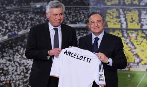 Carlo Ancelotti e Florentino Perez (Getty Images)
