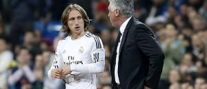 Luka Modric & Carlo Ancelotti (foto dal web)