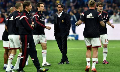 Inzaghi e il suo Milan (getty images)