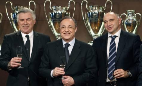 Ancelotti e Perez (getty images)