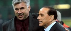 Carlo Ancelotti Silvio Berlusconi