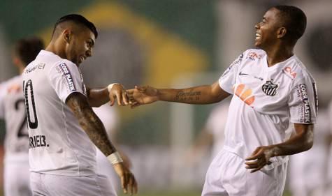 Gabi-gol e Robinho (getty images)