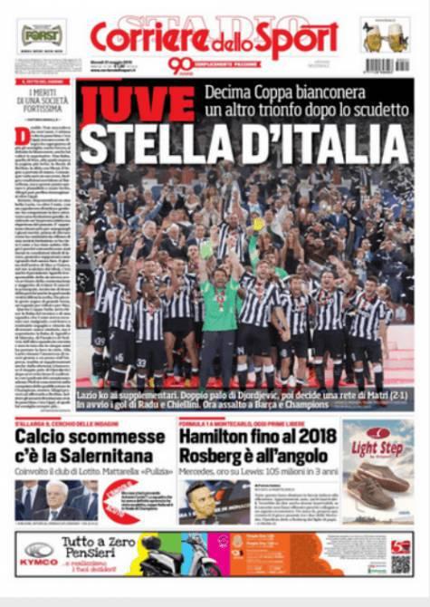Corriere dello Sport 21-05-2015