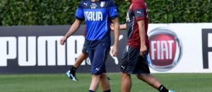 Stephan El Shaarawy e Antonio Conte (Getty Images)