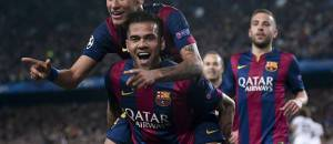 Dani Alves & Neymar (Getty Images)