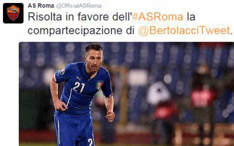 La Roma riscatta Bertolacci dal Genoa