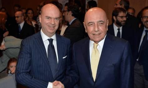 Marco Fassone e Adriano Galliani (gazzetta.it)