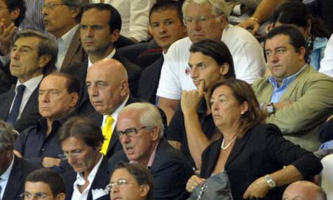 Ibrahimovic Berlusconi Galliani