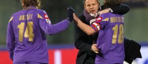 Mihajlovic e Montolivo alla Fiorentina (getty images)