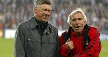 Carlo Ancelotti & Villiam Vecchi (foto da Eurosport.com)