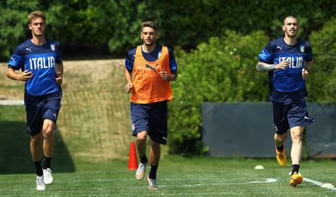 Alessio Romagnoli e Daniele Rugani, in mezzo Berardi (Getty Images)